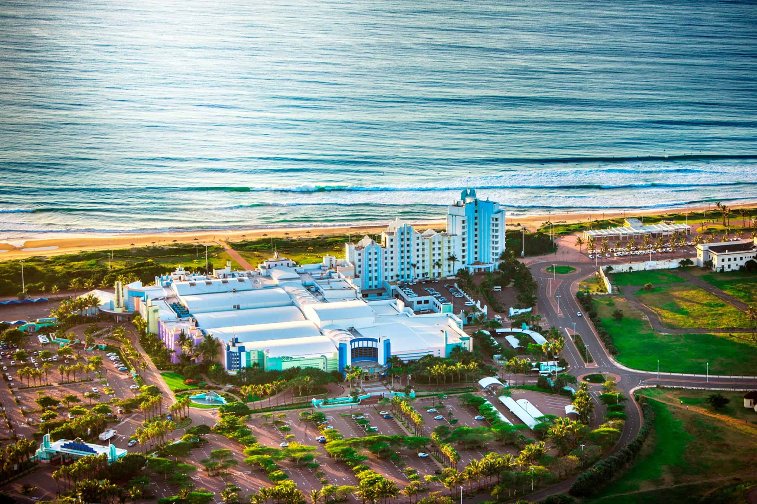 Suncoast Casino Aerial view