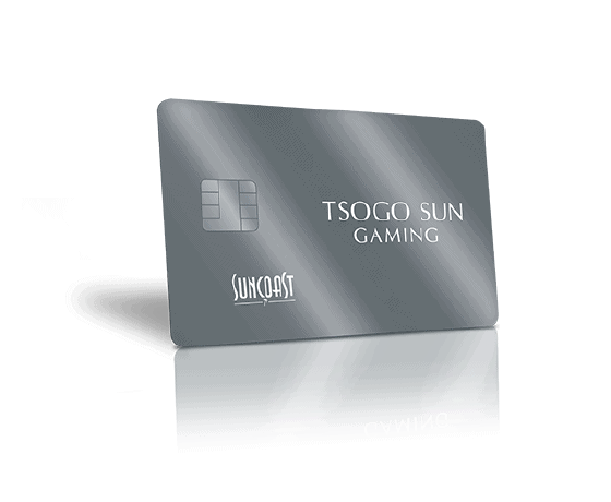 The new Suncoast casino platinum rewards card