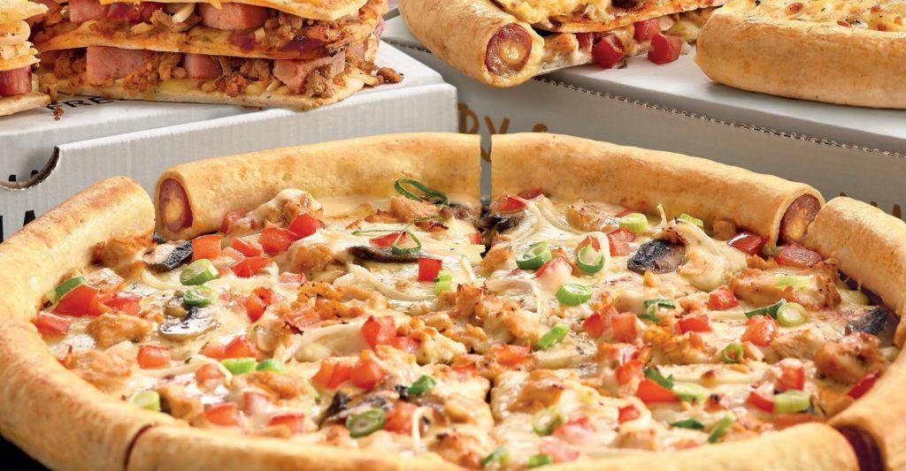 Debonairs pizzas
