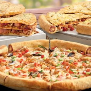Debonairs pizza displays