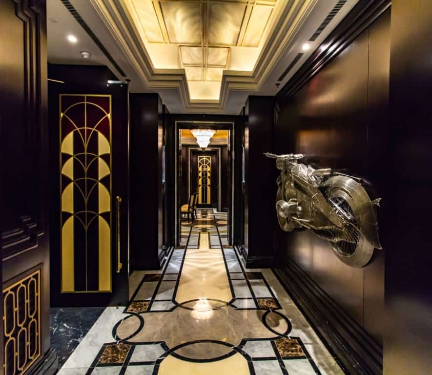 Hallways at the Suncoast's Casino Salon Privé