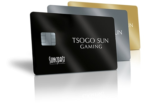 All the new Suncoast casino rewards cards