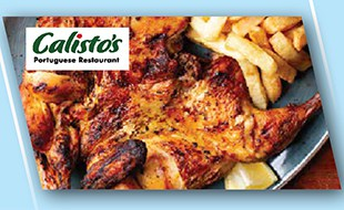 Calistos full-chicken and chip offer image