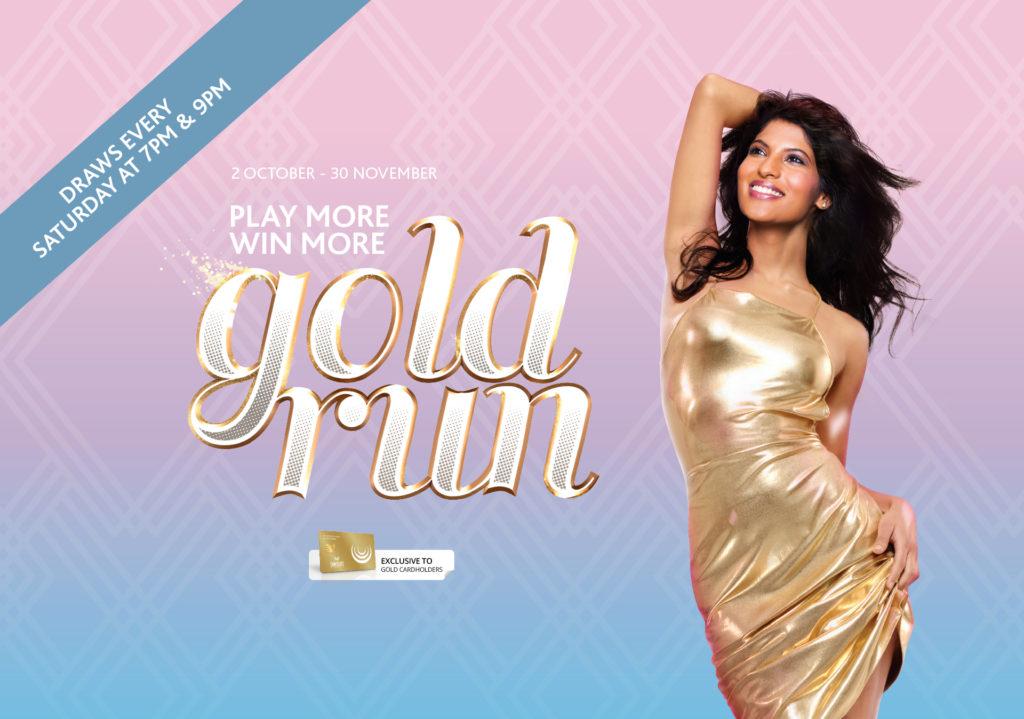 Gaming Promotion Gold Run