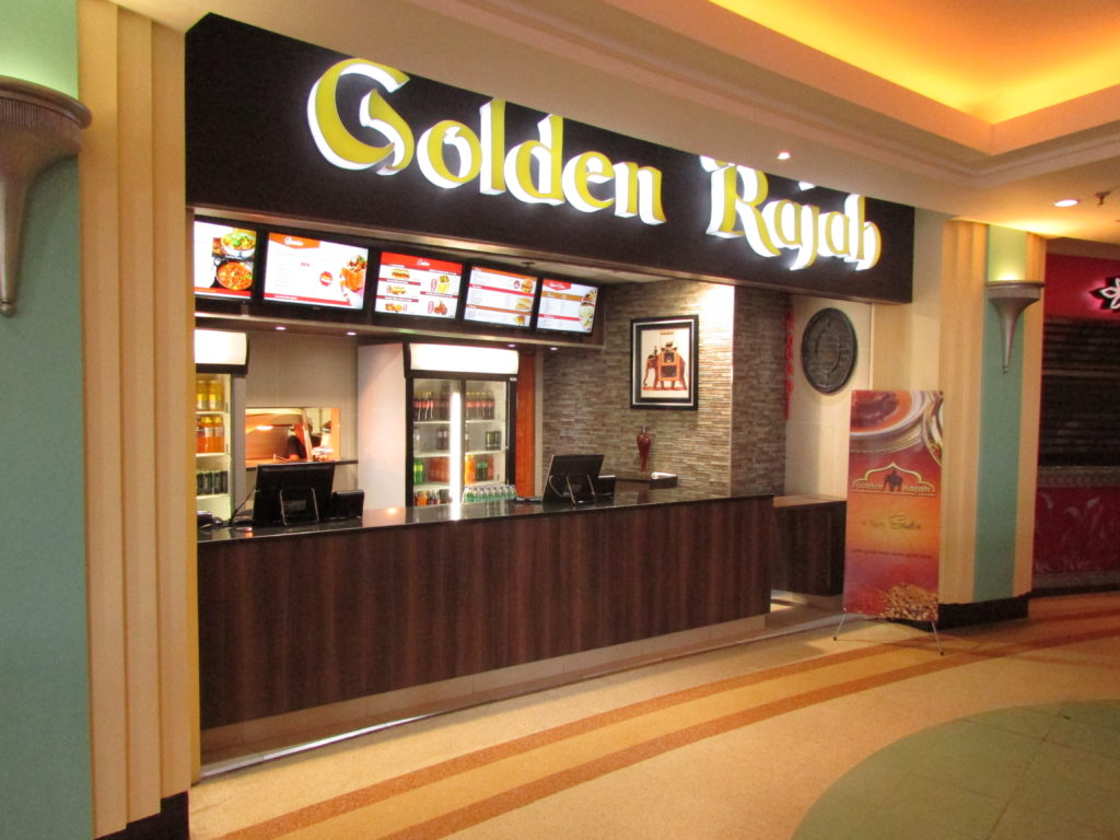 Golden rajah