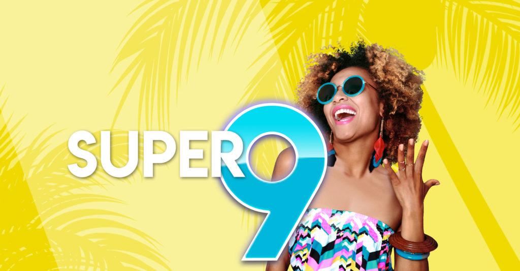 Super 9 gaming promotion landscape banner
