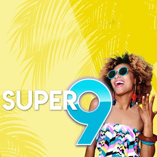 Super 9 gaming promotion square banner