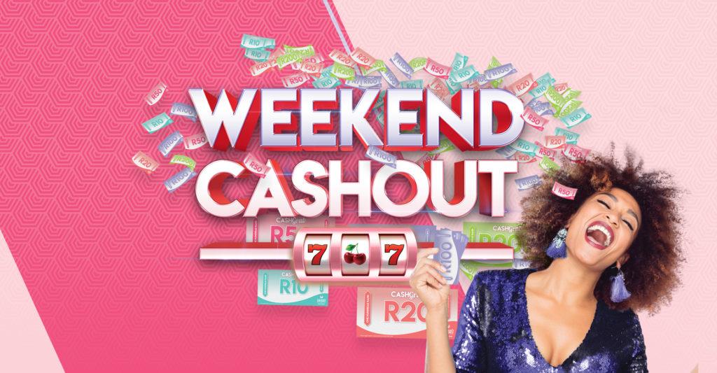 Weekend Cashout landscape banner