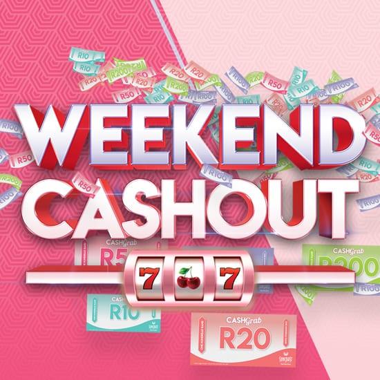 Weekend Cashout small banner