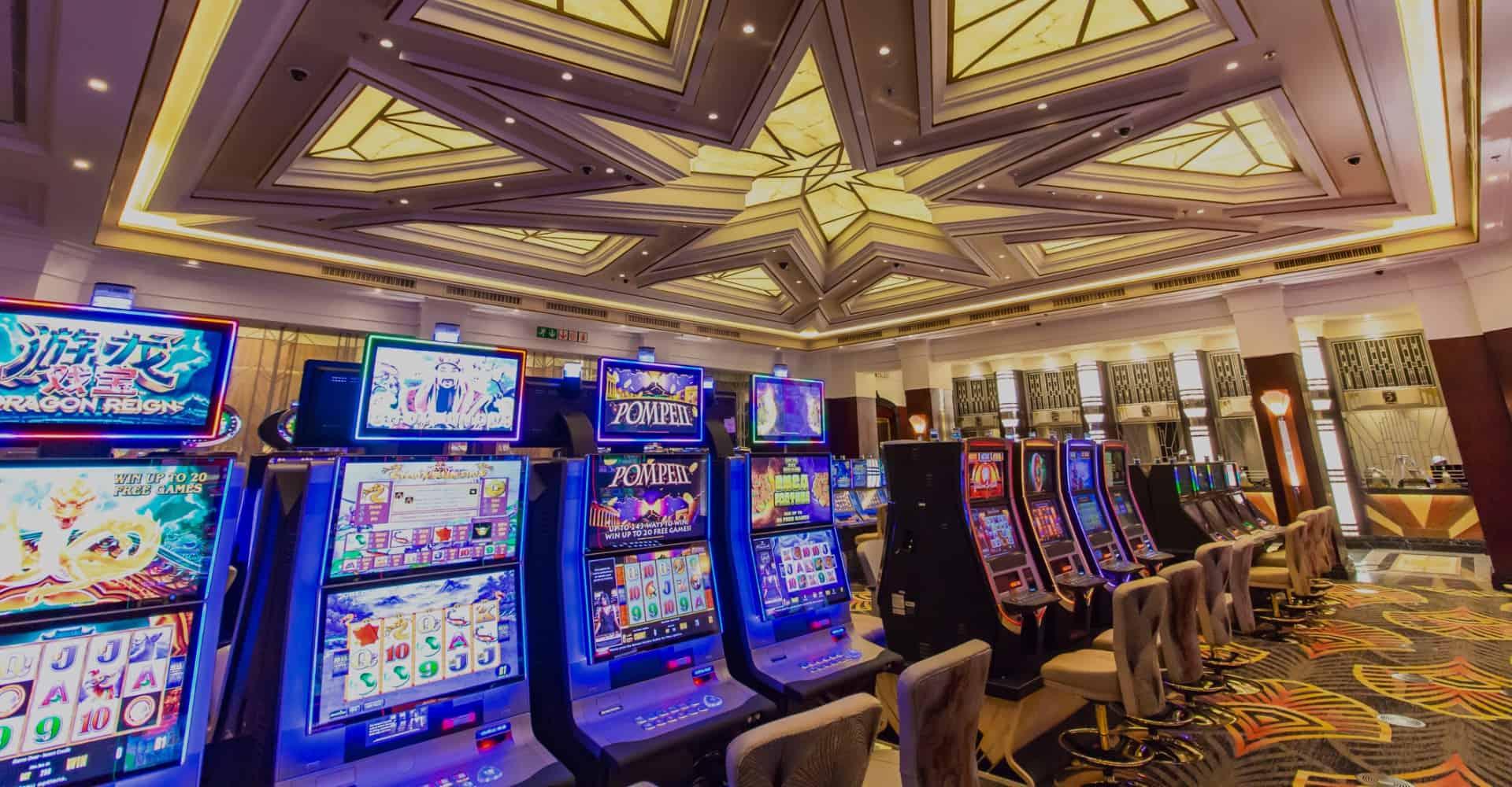 Salon Privé slots at Suncoast Casino landscape view
