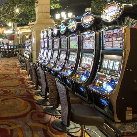 Slots on display at Montecasino