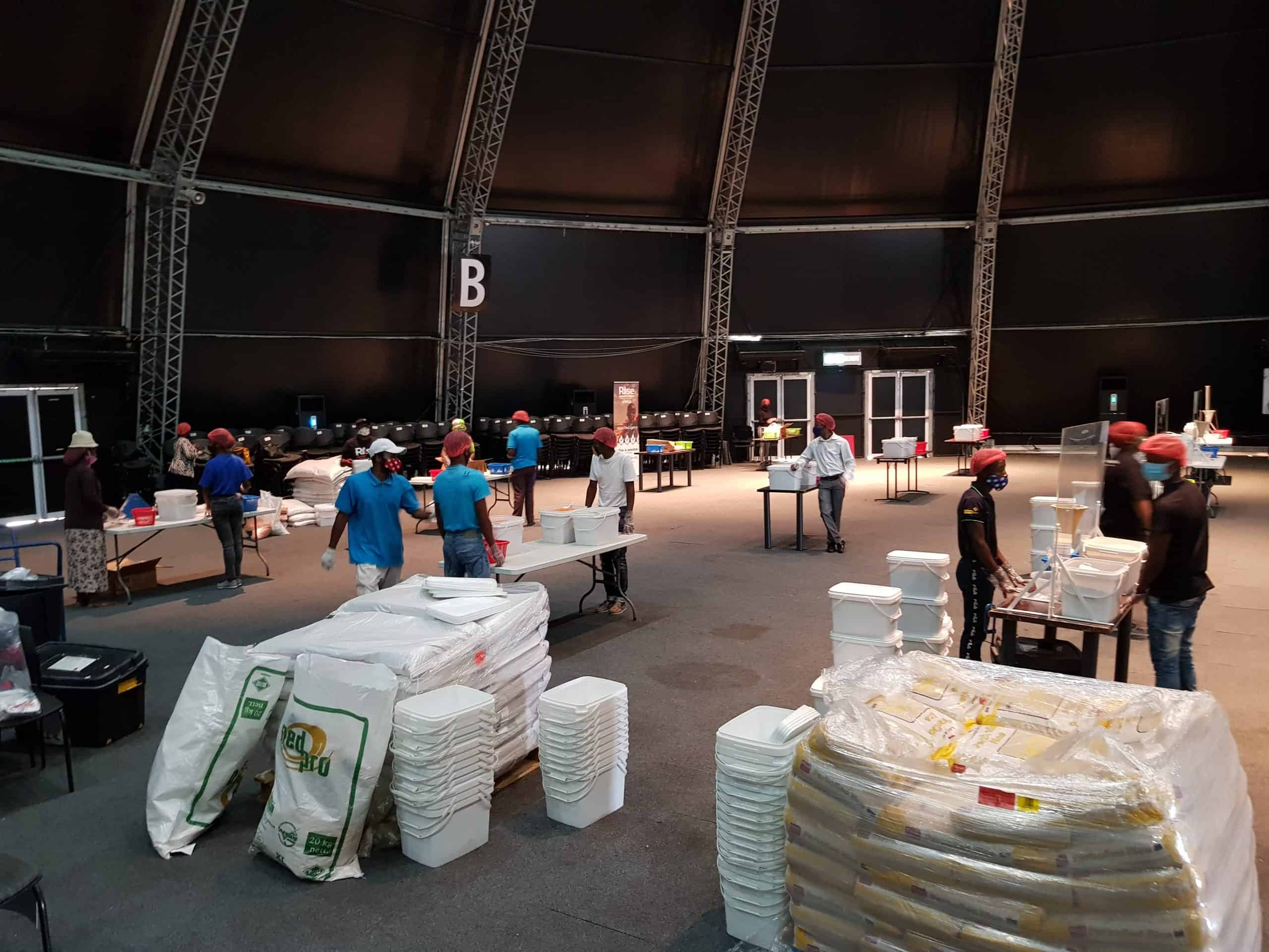 Suncoast Packs 20,000 meals for World Food Day