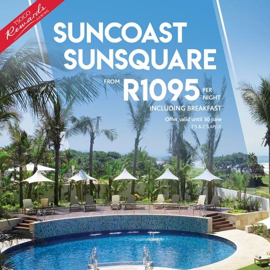 Awesome special at Suncoast Sunsquare